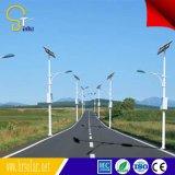 Item comercial 8 m Pole 60W Solar Street iluminação pólo para a África