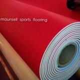 Самоклеящаяся виниловая пленка ПВХ настольный теннис спортивные полы в помещении с Litchi шаблон поверхности