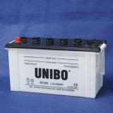 La qualité JIS normale sèchent la batterie chargée de voiture de N100 12V100ah