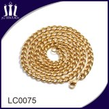 Atacado Aço inoxidável Men Chain Necklace