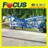Yhzs60 planta concreta móvel modelo da capacidade 60m3/H