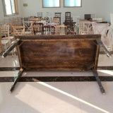 Открытый Customlized дерева банкетный кемпинг свадебное обеденный стол