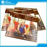 A laminação brilhante a impressão do cartão personalizado