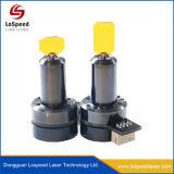 No hay radiación marcadora láser piezas de metal para el Sistema de grabado láser de fibra