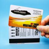 자기 띠를 가진 PVC ID 카드 RFID 호텔 키 카드