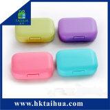 Contenitore portatile antipolvere di sapone, contenitore turistico di sapone, coperchio Handmade del sapone, cassa d'imballaggio del tampone