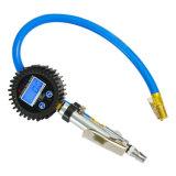 Zink-Karosserie mit Messingluft-Klemme-Gummireifen-Luftpumpe mit Digital-Anzeigeinstrument