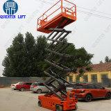 L'azionamento idraulico del motore di Quentin 12m Scissor gli elevatori dell'uomo