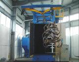 Huaxing ISO hakenförmige Granaliengebläse-Maschine, Metallbauteile OberflächenDerusting Gerät