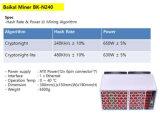 바이칼 거대한 N240 Bitcoin 광부 Cryptonight 240kh/S 650W Cryptonight 라이트 480mh/S 630W 광업 산법-- 심천 자유로운 Shiping에 있는 주식