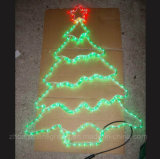 Straßenlaternedes künstliches Weihnachtswasserdichtes hängendes Seil-Motiv-Dekoration-Baum-LED