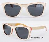 Modieuze Loge kan Aangepaste Natuurlijke Houten met de Zonnebril Eyewear zijn (van Ce)