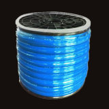 Color azul de PVC suave resistente al agua las luces de neón