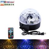 Sechs Dekoration-Kristalllichter der Farben-magische Kugel-Licht-Disco-Kugel-Weihnachtslicht-LED