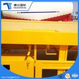 20FT/40FT 콘테이너와 대량 화물을%s 반 3개의 차축 콘테이너 평상형 트레일러 편평한 침대 트레일러