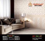 300*900mm 6D-Inkjet verglaasden de Binnenlandse Ceramische Tegel van de Muur voor de Decoratie van het Huis