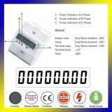 Новый дизайн 4-контактный цифровой счетчик энергии для направляющих DIN домашних хозяйств