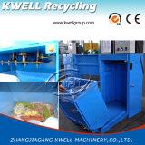 Compacteur de détritus de récipient d'hôpital avec glisser la chambre/presse hydraulique marine