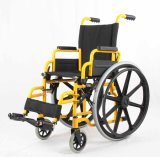 Manuel en acier, gosses, base, fauteuil roulant (YJ-013F)