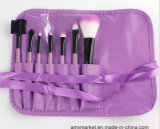 Комплект щеток 7 PCS состава цветастого цвета косметический с мешком