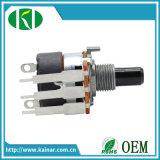 Potentiomètre rotatif 16 mm avec commutateur Wh168-4