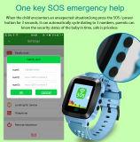 아이들 GPS 추적자 외침 SMS SIM 카드 Sos를 위한 지능적인 시계