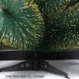 [90كم/40ت] [كريستمس تر] مع خضراء وذهبيّة لون لأنّ عطلة زخرفة