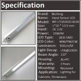 Luz ahuecada inductiva de la barra del oscilación LED de la mano
