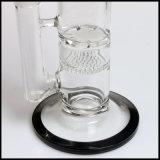 De rechte Waterpijp van het Glas van de Kam van de Honing van Perc van de Honingraat van de Buis Rokende