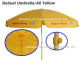 Renforcé annonçant le parapluie de plage avec l'impression complexe