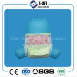 Schläfrige Baby-Windel mit magischem Band und blauem Leck-Schutz