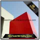 Nouveau matériel de décoration PVDF ACP Panneau extérieur de façade pour revêtement mural