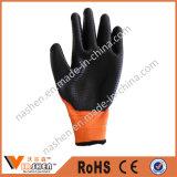 Промышленные химически упорные перчатки нитрила