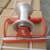 Cabo que puxa rolos retos do cabo do equipamento para a instalação de cabo