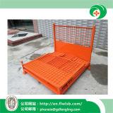 Personalizar la jaula de malla de alambre plegable de acero para almacén con CE