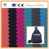 600d полиэфирная ткань с ПВХ для резервного копирования в рюкзак