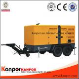 Usine Kanpor 330kVA 150kVA 120kw facile déplacé Générateur silencieux de remorque