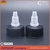 20/410 tapa plástica de la torcedura del encierro del tornillo de botella del casquillo para la salsa