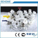Weiße Plastikrohre des polypropylen-PPR für kaltes Wasser