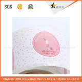 Peça de vestuário vestuário de tamanho de tecido lavável Tag roupas etiqueta de tecido de impressão