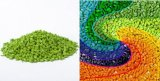 放出の薄緑のPEカラーMasterbatch