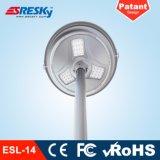 Bianco caldo di disegno dell'alto di lumen LED indicatore luminoso solare popolare del giardino