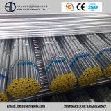 Tubo de acero galvanizado Gi/tubo de acero cuadrado/Estructura de tubo de Material de construcción