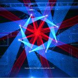 4W RGB Animation-Laser-Beleuchtung für Stadiums-Hochzeits-Verein