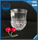 copo clássico do diamante do copo do vidro de água 260ml
