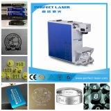 máquina da marcação do laser da fibra do metal e do plástico de 10W /20W