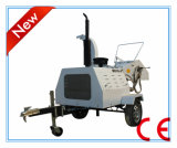 ディーゼル機関の木製の砕木機Dh40、40HPの引かれるセリウムの証明書、油圧挿入、ATV
