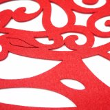 Placemat en polyester de saison de 3 mm et 5 mm pour table de cuisson