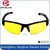 La marca su ordinazione UV400 più nuovi di vetro anabbaglianti di disegno mette in mostra gli occhiali da sole