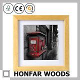 Rustikale Wand-Dekoration-hölzerner Abbildung-Foto-Rahmen für Hotel